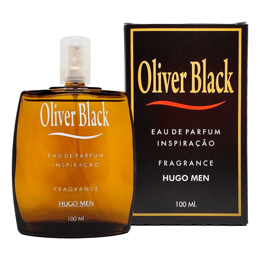 OLIVER BLACK EAU DE PARFUM FRAGRANCE HUGO MEN