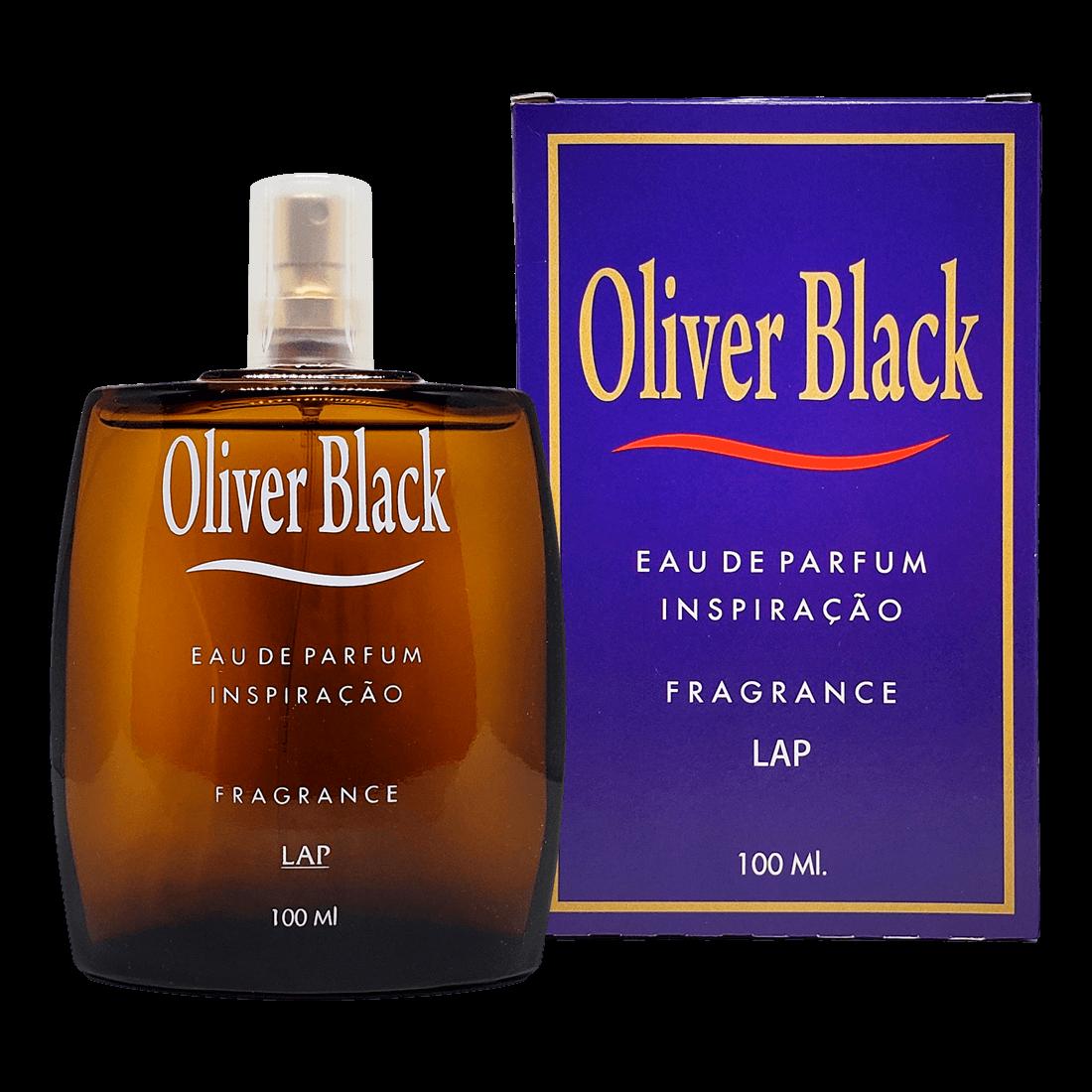 OLIVER BLACK EAU DE PARFUM FRAGRANCE LAP